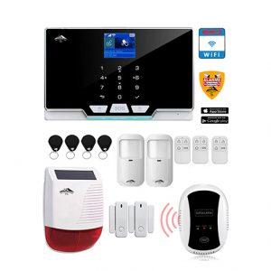 système-alarme avec carte sim et wifi