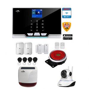système d'alarme camera ip