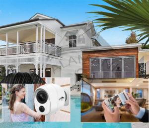 caméra de surveillance extérieure IP Wifi hd 2MP/1080P