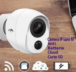 camera wifi sans fil connectée